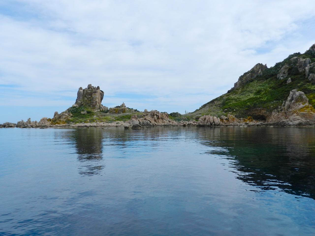 Ankerbucht vor der Isola Ogliastra